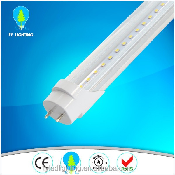 Aluminum PC cover rotating end cap high bright smd led tube G13 T8 LED Tube Lighting