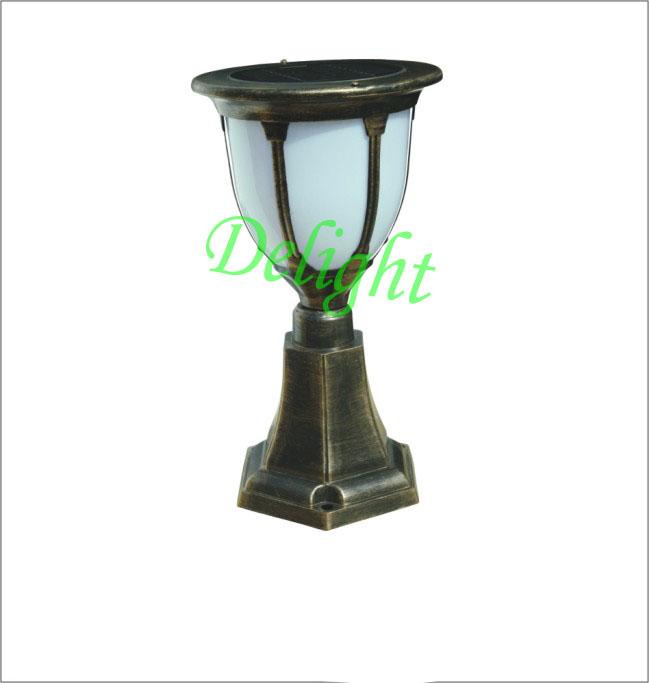 iluminacao jardim solar:Alumínio jardim luz cargo iluminação Solar ao ar livre ( DL-SP270-A