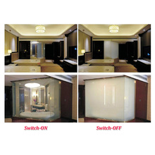 Bathroom Privacy Smart Glass Transparent Film Glass