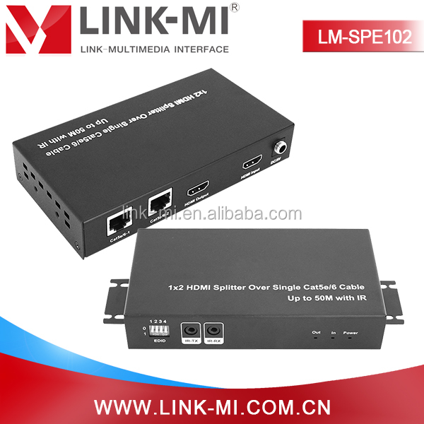 LM-SPE102 Good price 4k 2k hdmi 1x2 splitter high quality for HD1080p