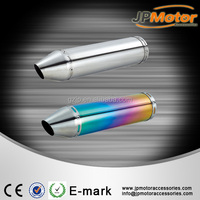 China factory directly sell 50cc 100cc used motorcycle exhaust, motorcycle exhaust muffler
