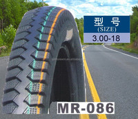 best quality motorcycle 3.00-18 tyre made in China