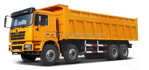 Shaanxi 8*4 dump truck right hand drive F3000/Delong