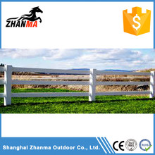 100% Virgin PVC Horse Fence With 3 Rail