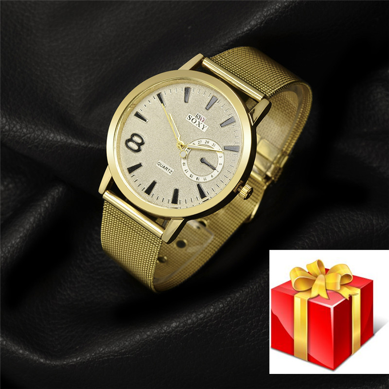 New Design OEM Wristwatches for Man Stainless Steel Male Chronograph With Japan Movt Classic Wristwatch Gifts