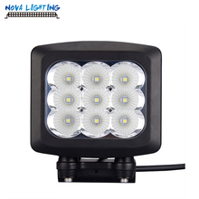 New Arrived Square 5 Inch 90W Work Light 12V Off road CREE LED Driving Light