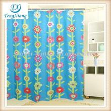 kids sunflower shower curtain rod cover