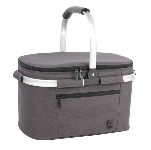 Large Size Custom Folding Collapsible 22L Picnic Basket Insulated Cooler Bag