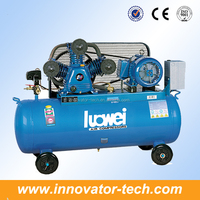 Portable piston belt driven air compressor IT673 with CE
