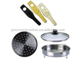 cookware accessories pressure cooker parts handles steamer and glass lid