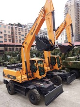 21t China wheeled excavator JYL621E for sale with lower price and same performance to DOOSAN