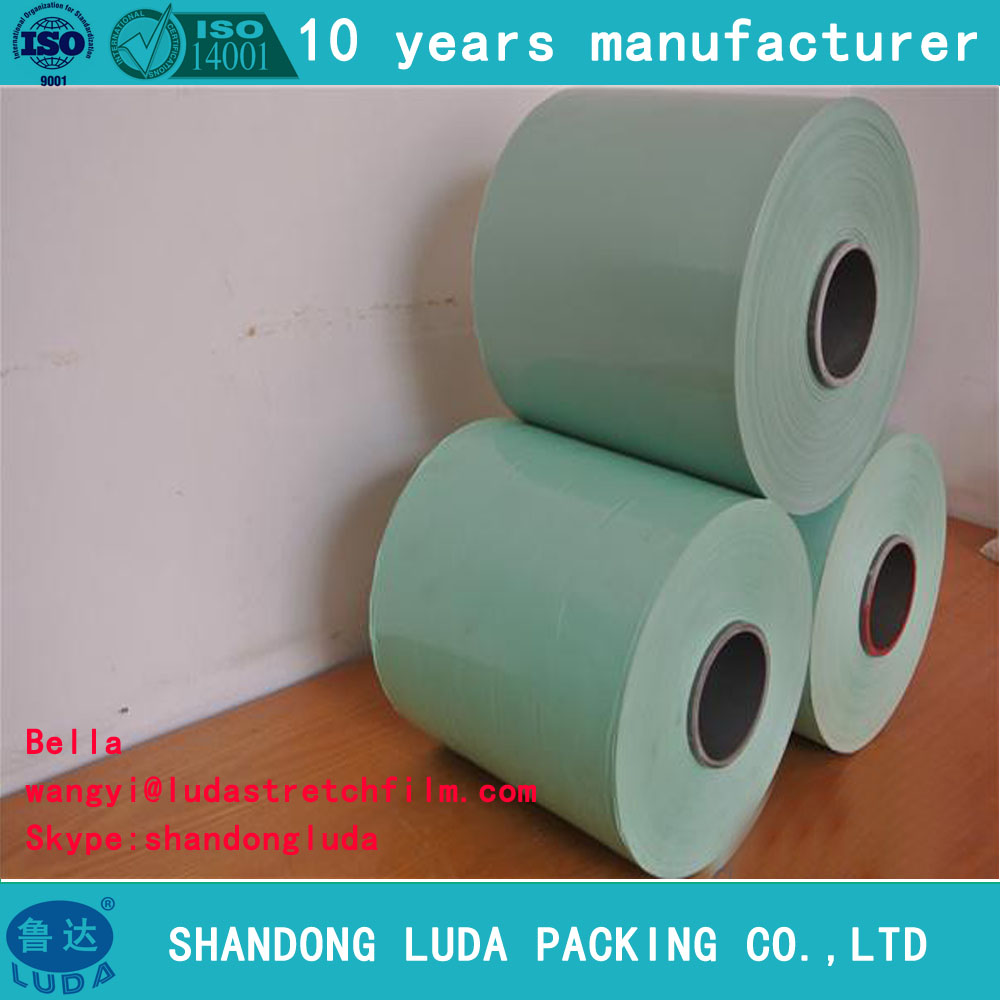 PE Hay white Silage Wrap Stretch Film for balerlldpe silage wrap film/bag for sale agriculture