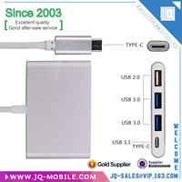 USB 3.1 Type C HUB Male to Multiple 4 Port Type-C *1, Type-A 3.0 *2, Type-A 2.0*1 Hub Adapter