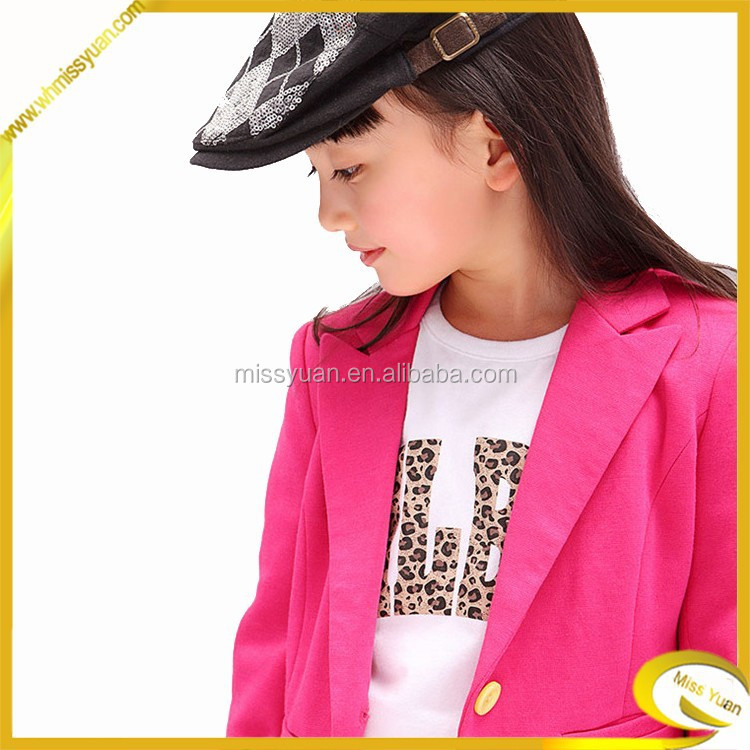 New fashion long sleeve fashion childrens clothes