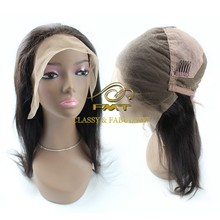 Elasticity Band Glueless Brazilian/malaysian/cambodian/indian 100% Human Hair Full Lace Wig