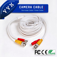 Coaxial cable with solid polyethylene insulation Cable 2BNC+2DC