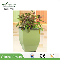 Large colorful plastic material resin Flower Pots