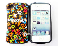 stylish mobile phone back cover and cute mobile phone cover 4S