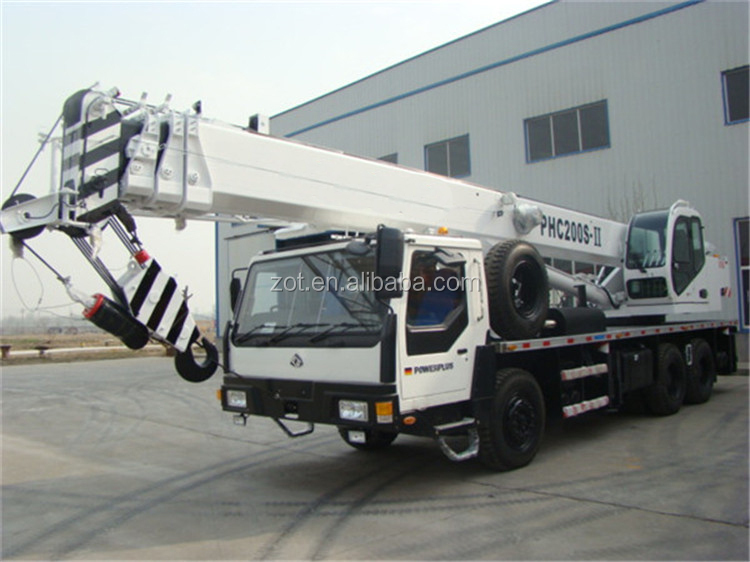 TOP Exported Mobile Crane ZOT 25ton Truck Crane QY25K-II for Sale