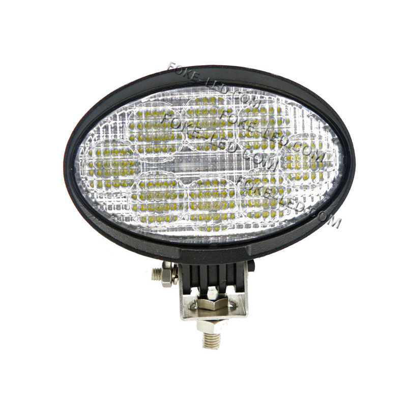 E-Mark EMC anti-interference 5.5 inch 24w 40w oval 12v led tractor work light for agricultural machines