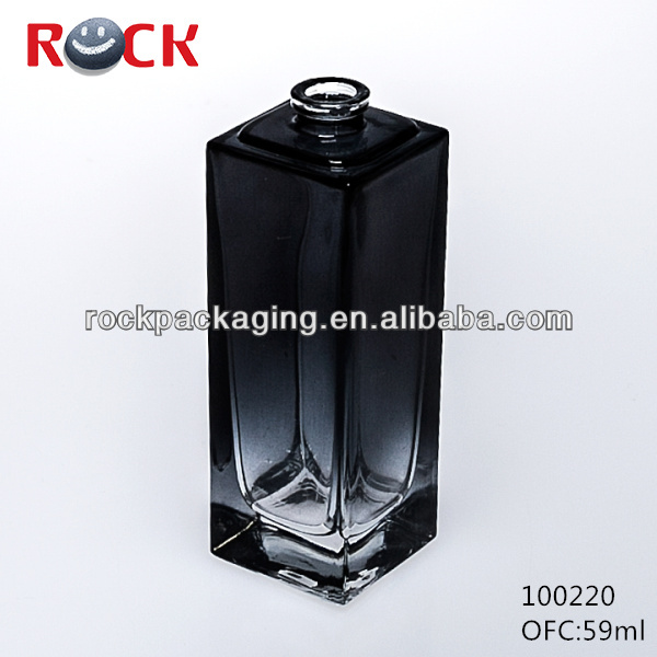 empty black 59ml sex perfume bottle for man