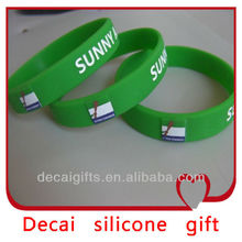 2013 High quality stylish make your own name silicone bracelets for los angeles
