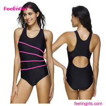 Wholesale large sizes stripes front sports brazilian bikini beachwear