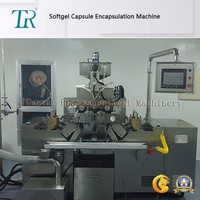 FDA Approved Soft Capsule Making Machine Suitable For Marine Gelatin And Vegetable Gelatin