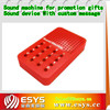 Customized toy sound machine with 16 buttons