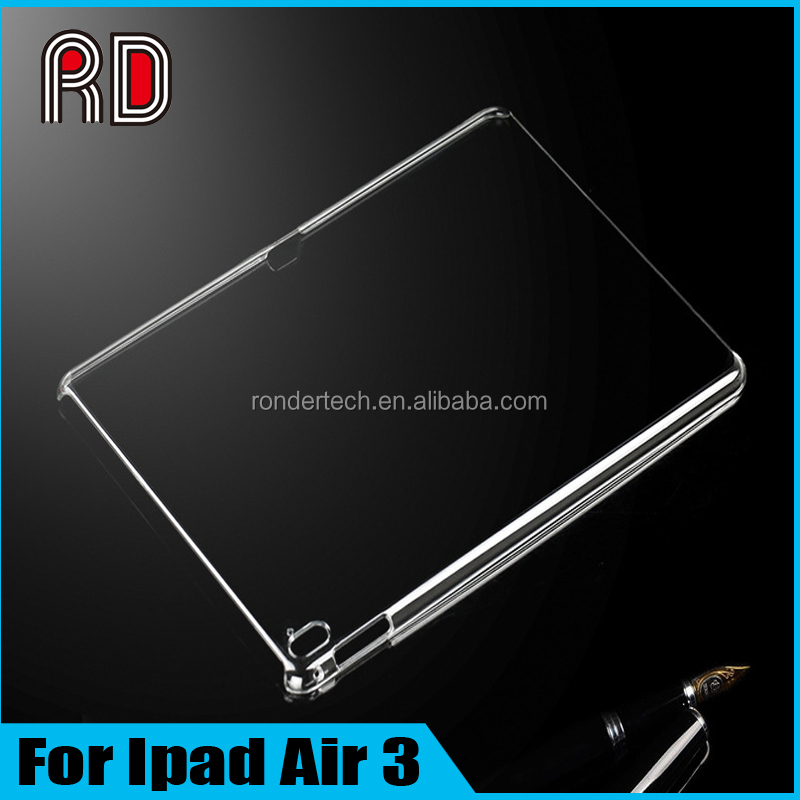 Factory Wholesale HD Transparent PC Hard Shell Protective Table Case for Ipad Air 3