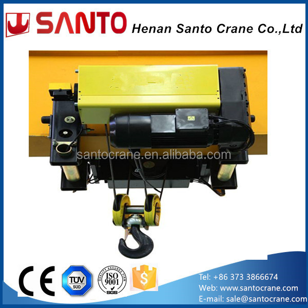 CE ISO Certificate Wireless Remote Control Pendent Electric Hoist Single Girder Overhead Traveling EOT Crane 5 ton