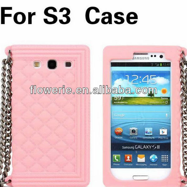 FL3354 2014 Guangzhou high quality heavy duty 3d soft silicone case cover for samsung galaxy s3 i9300