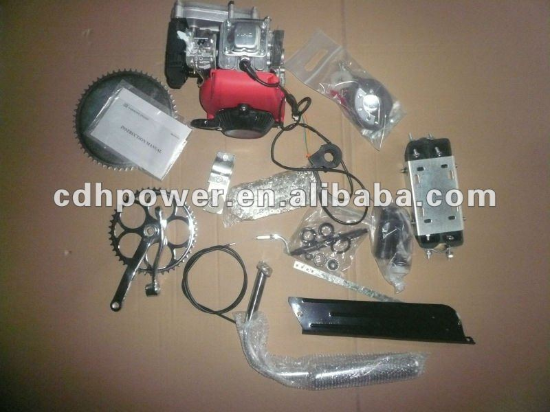 Hot Sale 4 cycle engine kit/4 stroke motorized bicycle engine kits/4 cycle bike motor kits CDH 49CC