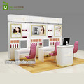 Shopping mall makeup store furniture cosmetic display kiosks