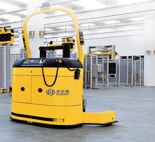 AUTOMATIC FORKLIFT LASER GUIDE VEHICLE