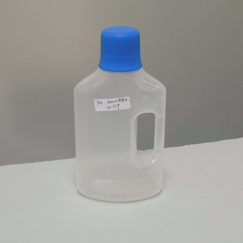 500ml HDPE Laundry detergent bottles in clear color