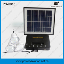 4W solar powered solar electricity generating system for home in rural areas