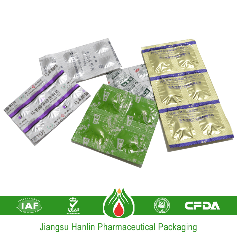 medicine pharmaceutical packaging density of aluminum foil