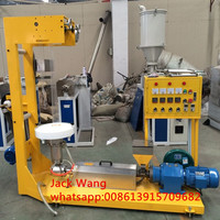China SJ25 plastic ldpe film bag production line/small blowing film making machine