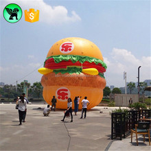 Fastfood Advertising Inflatable Hamburger Giant Promotional Hamburger Inflatable Model A2108