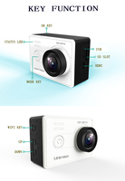 Mini sport dv 2.0 inch 1080p HD WIFI function 30M waterproof mini sport dv for 64GB memory
