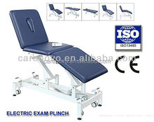 Model CVET010 three section electric ADJUSTABLE medical exam table