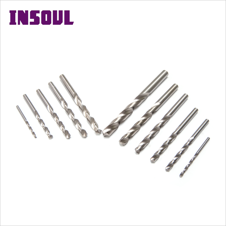 INSOUL High Quality 118 Degree Step HSS 4341 Twist Drill Bit Set Cast For Iron Wood Plastic