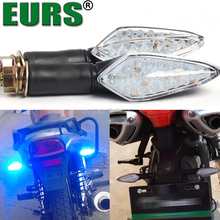 EURS 12V-80V red bule yellow white 90lm waterproof 1.8w Indicator lamp decorate motorcycle led turn signals light