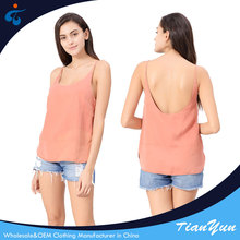 Trendy best price professional new fashionable soft twill tank top manufacturer