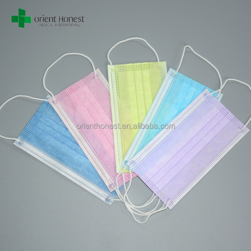 Disposable medical chemical anti pollution face mask