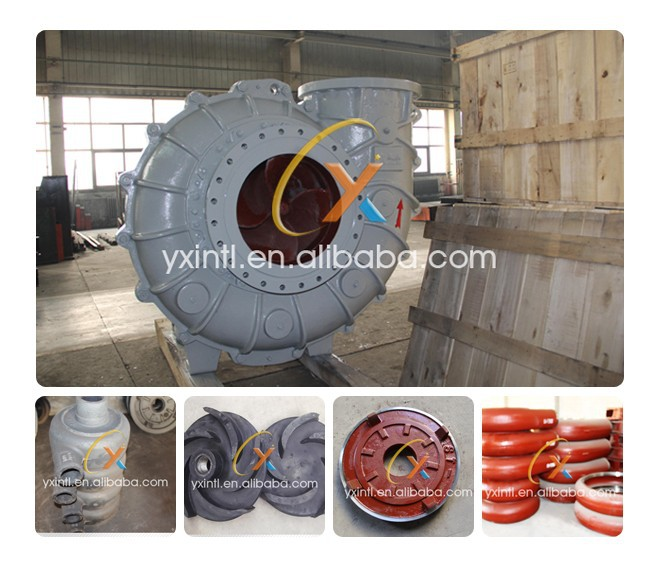 Anti-abrasive Caustic Mining ash Slurry Pump and Parts