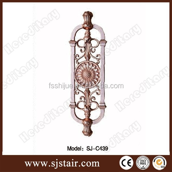 lastest design High quality Aluminum garden fence post factory price