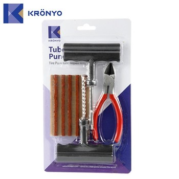 KRONYO rubber solution hand tool Car tire repair kit instruments