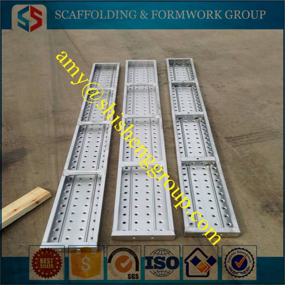Tianjin SS Group Scaffold metal plank expanded pre-galvanized walking platform plank